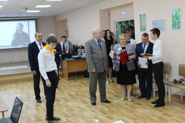 В.П. Шанцев посетил наши соревнования